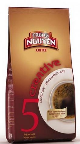 Creative 5  (Sang Tao 5) 250g x 5 pack including shipping Trung Nguyen Vietnamese style ground coffee