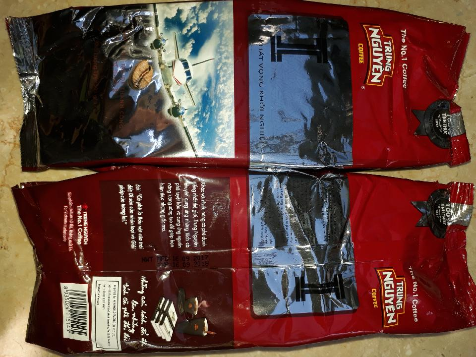I Blend  - Khat Vong Khoi Nghiep  - Cafe Rang Xay Thuan - 500g  x 9 with shipping