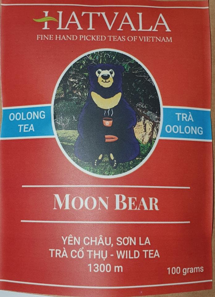 Moon Bear Oolong Tea 100g CHO LONG, YEN CHAU Hatvala