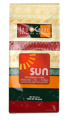 Indochine Sun 250g ground Arabica blend coffee (Indochine Estates)