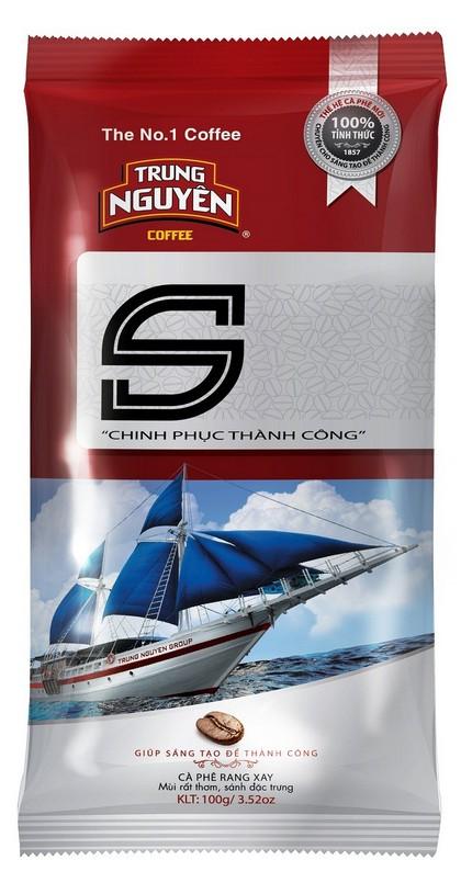 Chinh Phuc S  - Cafe Rang Xay Thuan  500g x 5 with shipping