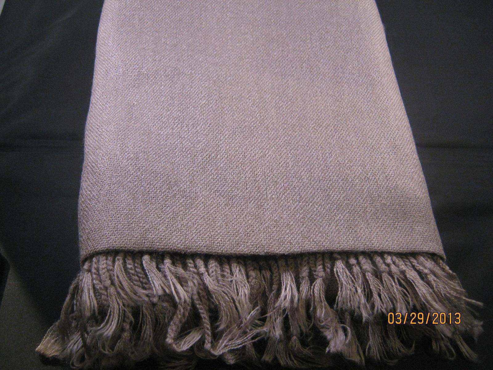 Pashmina shawl grey