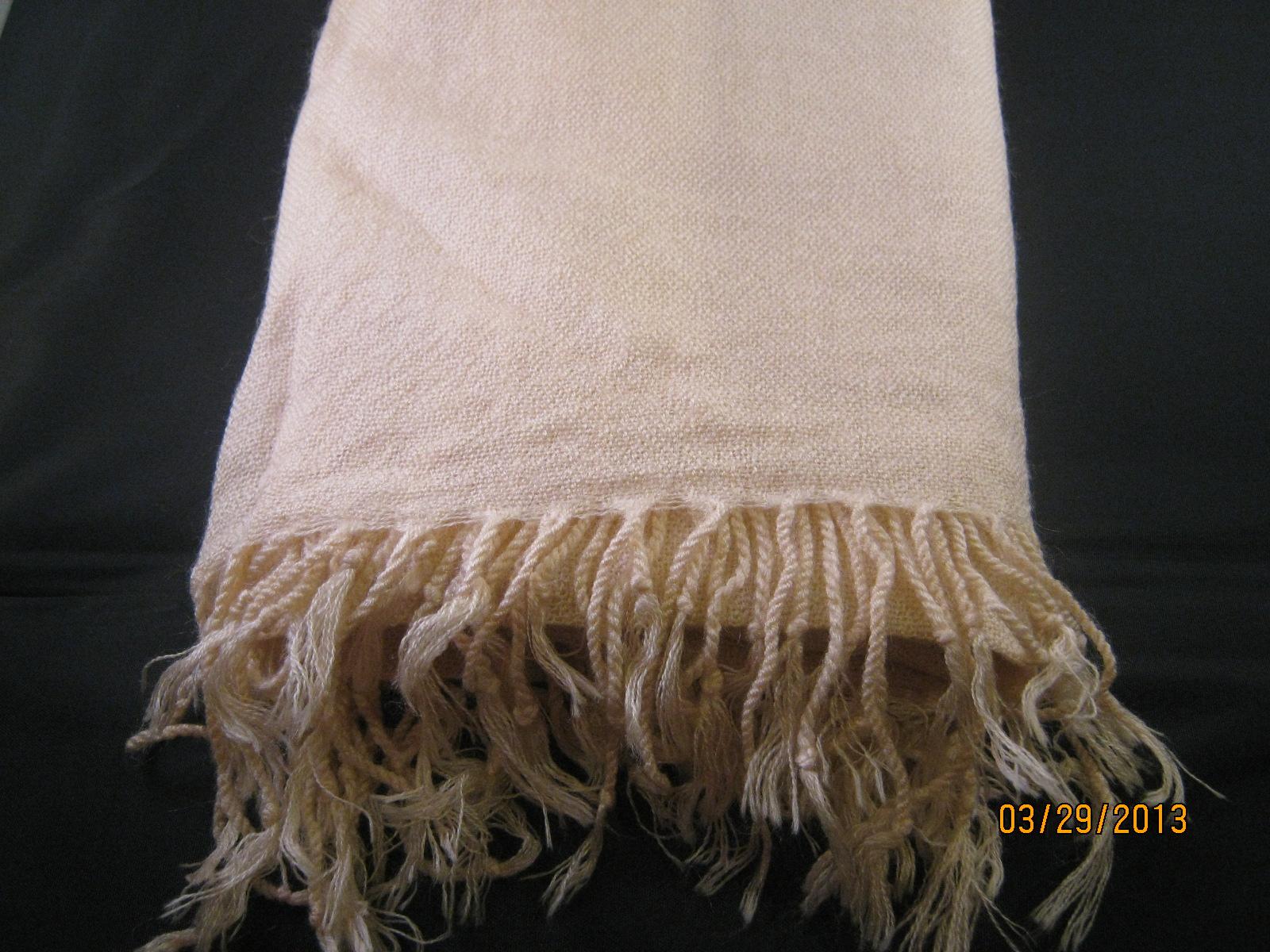 Pashmina shawl light Tan