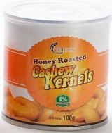 Honey Roast Cashew Kernels 100g