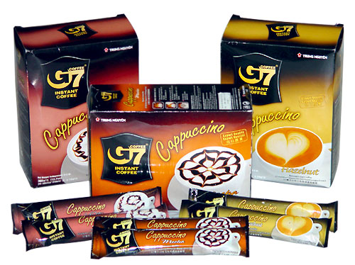 G7 cappuccino - Moccha 12 sachet x 12 box with shipping