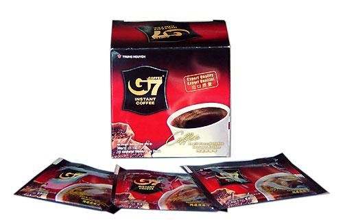 G7 Instant  Black Coffee - 30 sachet