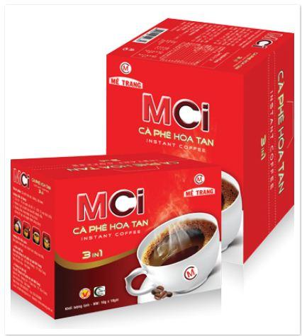 Metrang MCi - 3 in 1 coffee 16g x 24 sachets