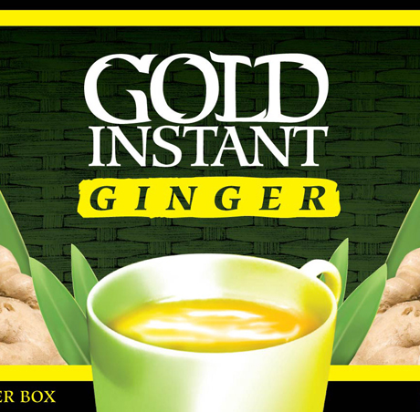 Gold Instant Ginger tea - 20 sachet