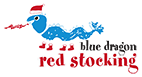 Blue Dragon Red Stocking appeal