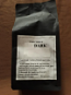 Dark 500g whole bean premium Arabica blend coffee