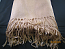 Pashmina shawl mid tan