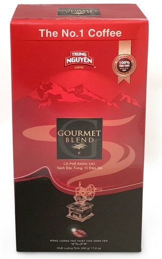 Gourmet Blend - Trung Nguyen - 250g ground coffee x 9 in soft pack with shipping