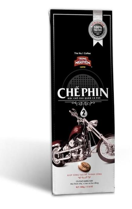 Che Phin 2 (Trung Nguyen) 500g x 5 Ground Vietnamese Coffee Robusta Arabica Blend