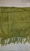 Pashmina shawl Olive green
