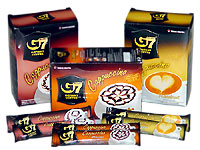 G7 cappuccino - Hazlenut 12 sachet  x 4 packs with shipping