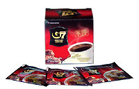 G7 Instant  Black Coffee - 100 sachet x 5 pack with shipping
