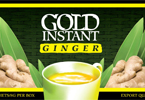Gold Instant Ginger tea - 20 sachet