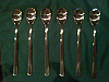 Iced coffee spoon - Stainless Steel x 6
