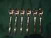 Espresso spoon x 6
