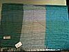 Pashmina shawl green, aquamarine, light blue with hints of mauve  120x60