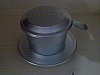 Coffee filter / Vietnamese Style Coffee Filter - Phin - small aluminium (espresso size)