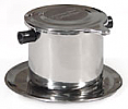 Coffee filter / Vietnamese Style Coffee Filter - Phin small - Stainless Steel (espresso size) x 2 with shipping